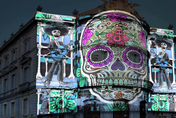 Video mapping Casa de America