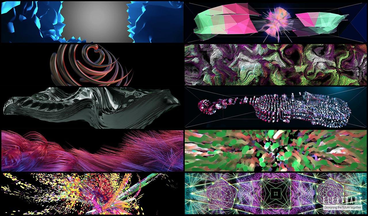 Instalación de arte digital
