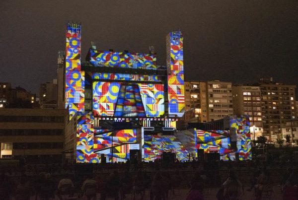 Video Mapping Palacio de Festivales de Santander